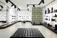 Стеновые 3D панели в торговом помещении