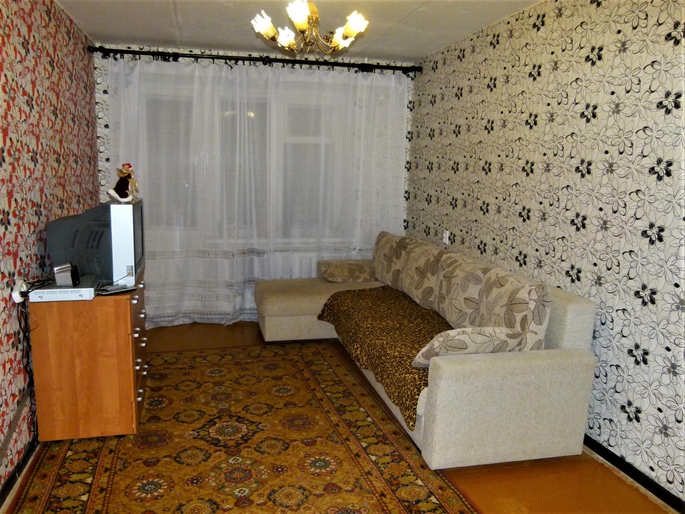 Квартира без подготовки