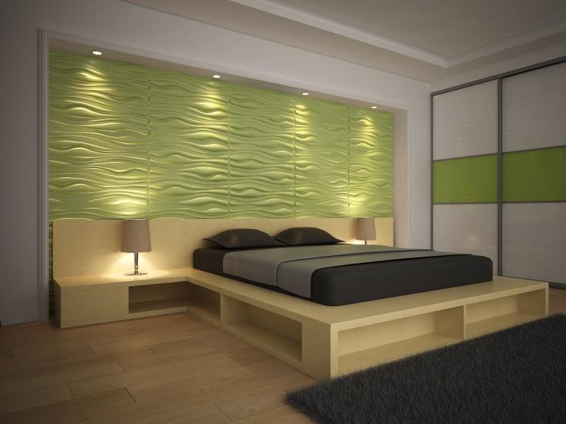 Подсветка стеновых панелей