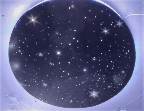 Звездное небо со стразами сваровски