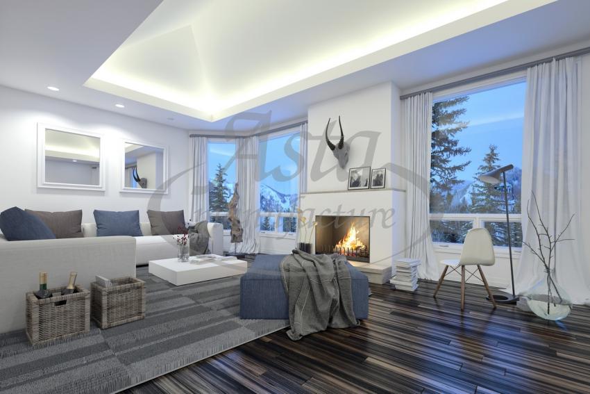 Украшаем потолок необычной подсветкой