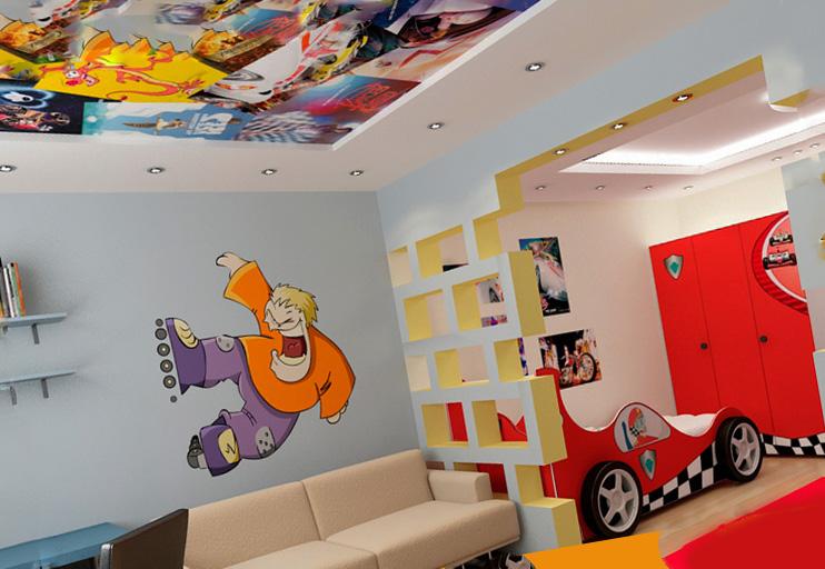 Декор комнаты для разнополых детей