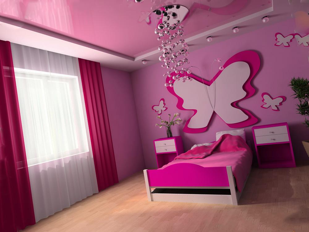 Оформление помещения для девочки