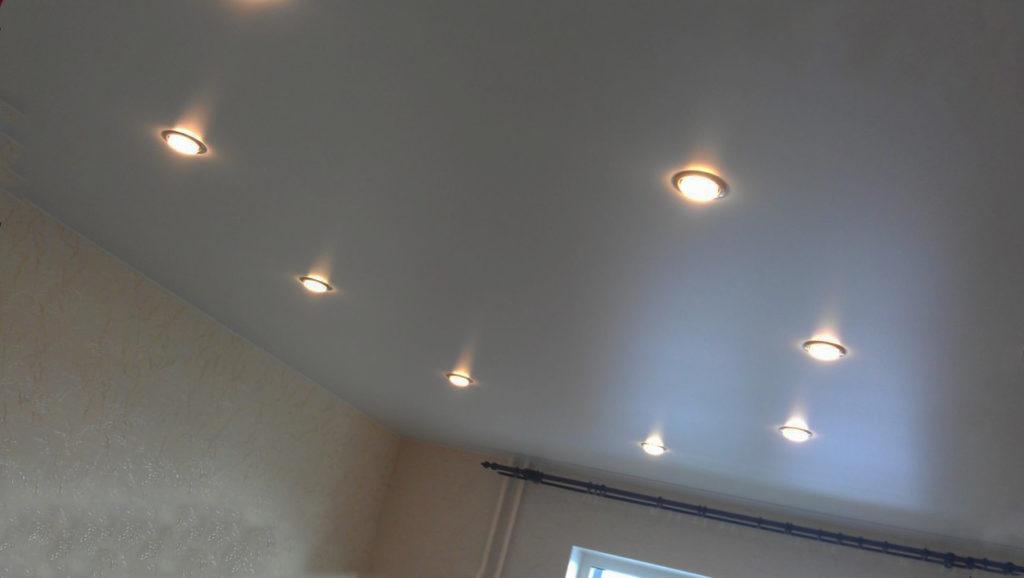 Виды точечных светильников
