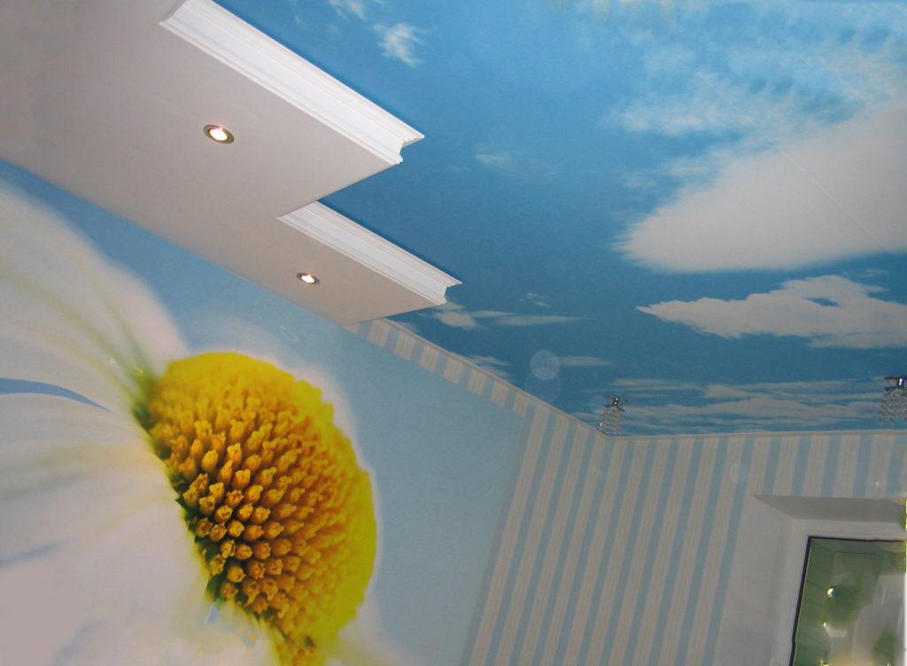 Преимущества 3Д натяжных потолков