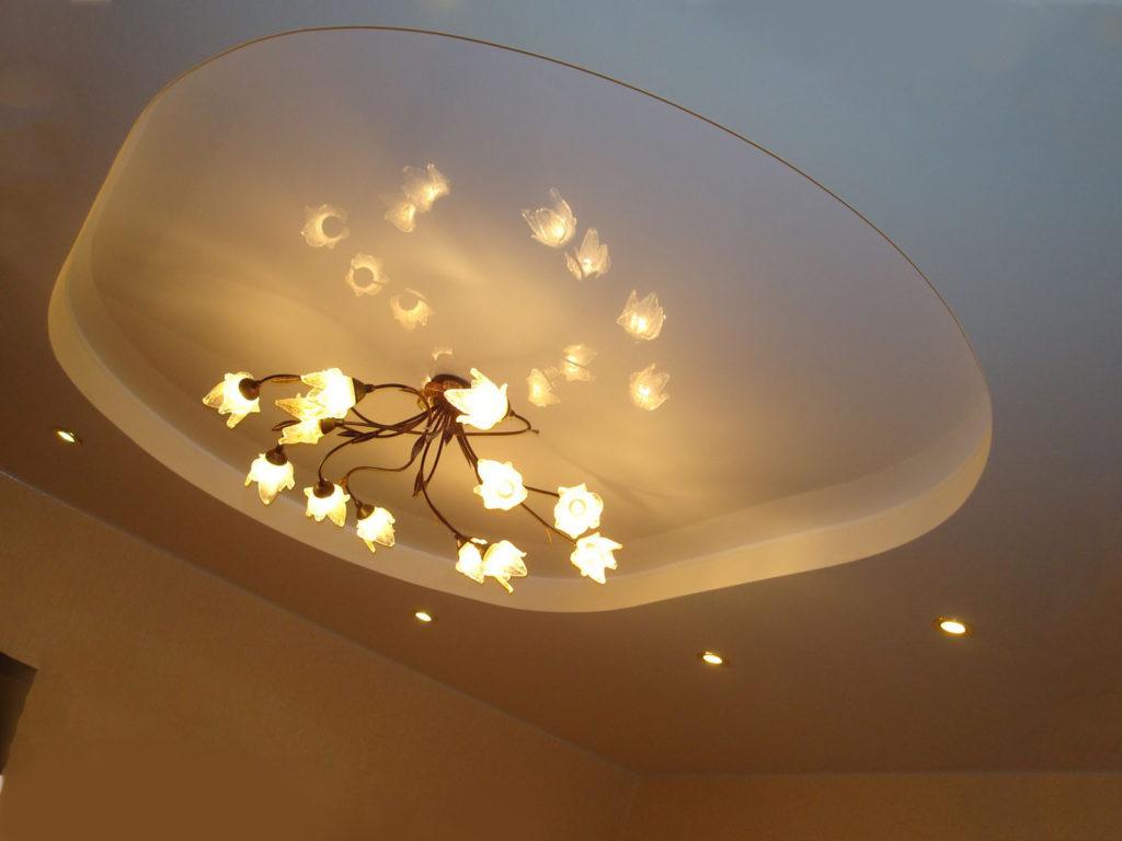 Комбинированный потолок: что это?