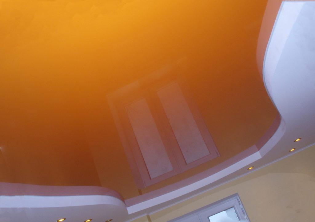 оранжевый глянцевый