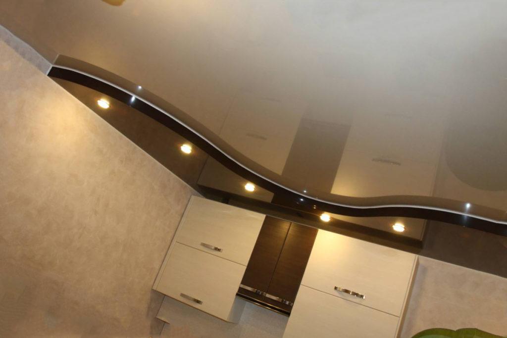 Многоуровневые комбинированные потолки