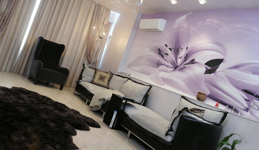 декоре стен квартиры