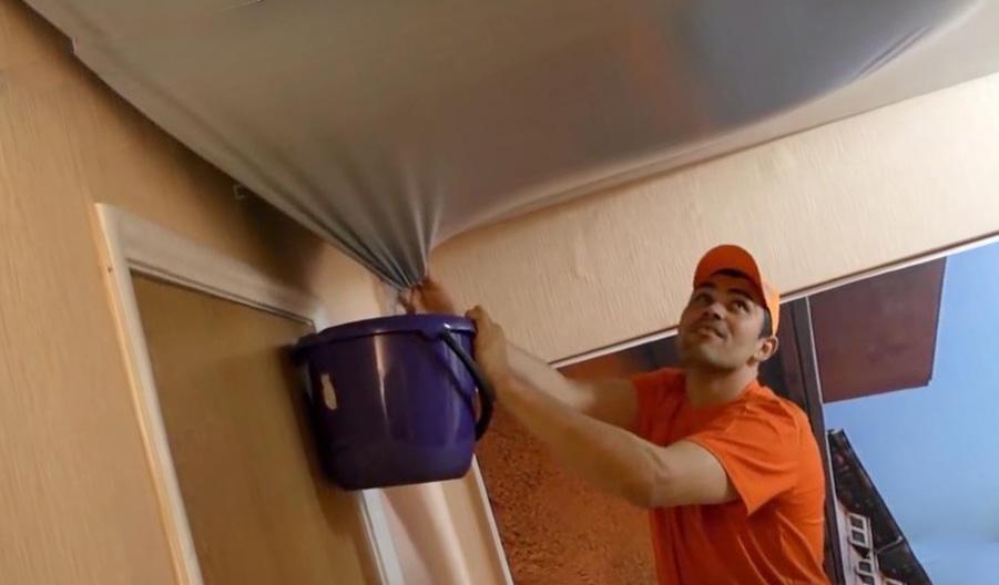 потолки спасают от потопа?