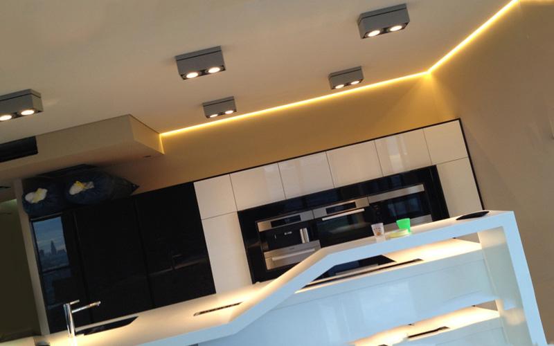 Конструктивные особенности «парящего» потолка