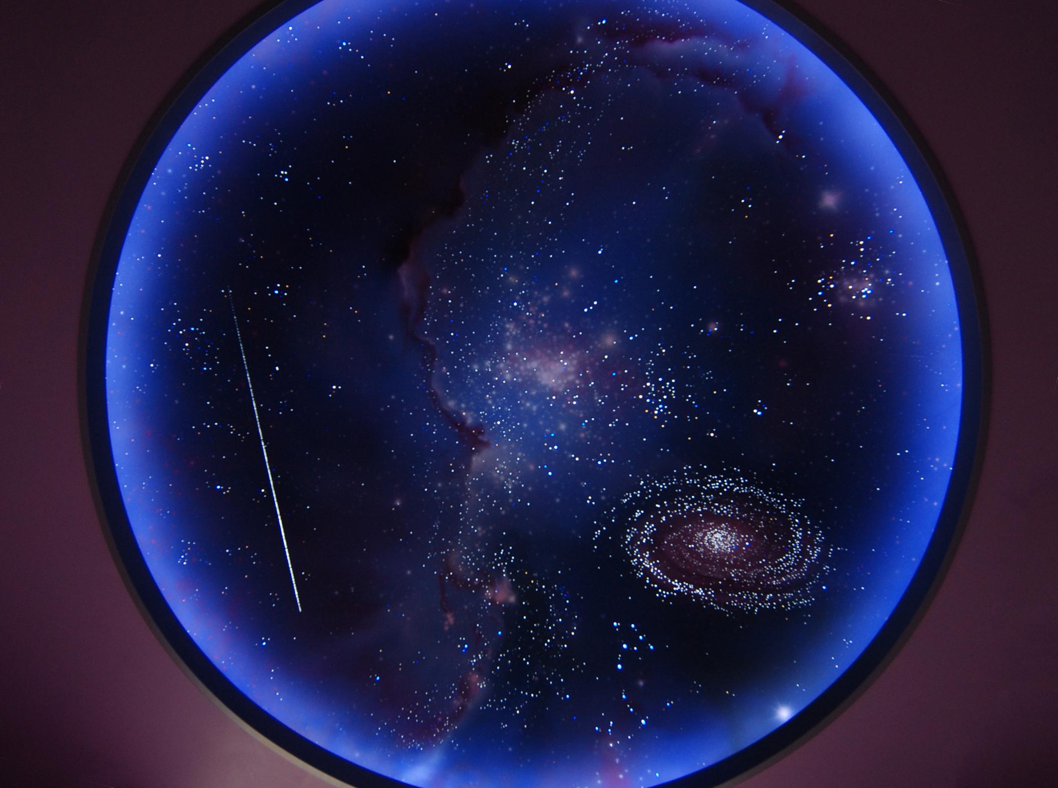 Потолок «Звездное небо» с мерцанием