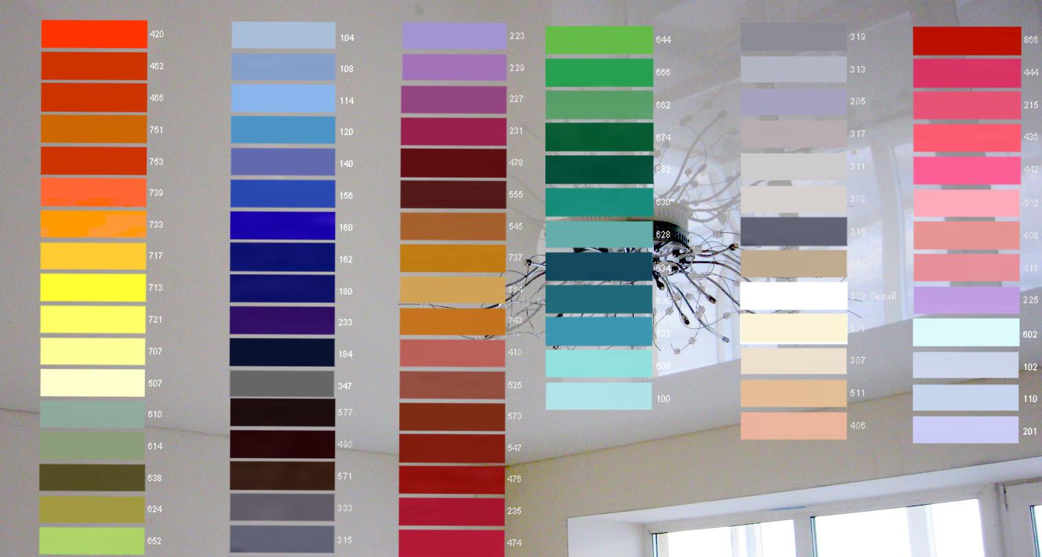 Какого цвета должен быть потолок