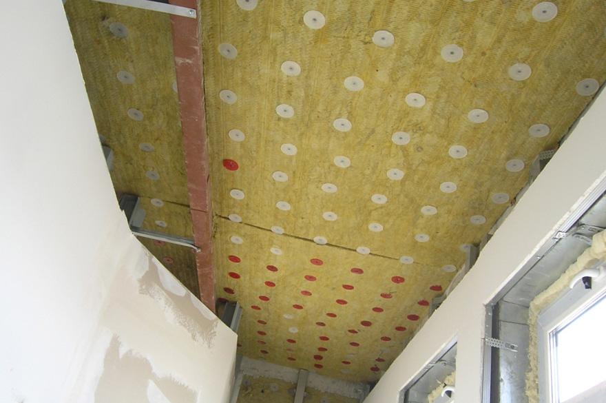 Звукоизоляция потолка под ключ