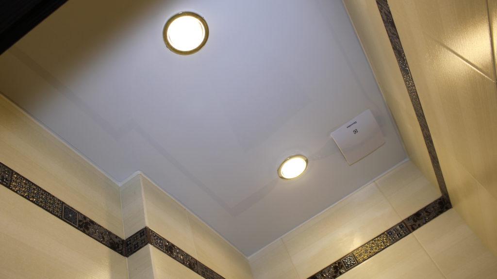 подходящие светильники в натяжной потолок
