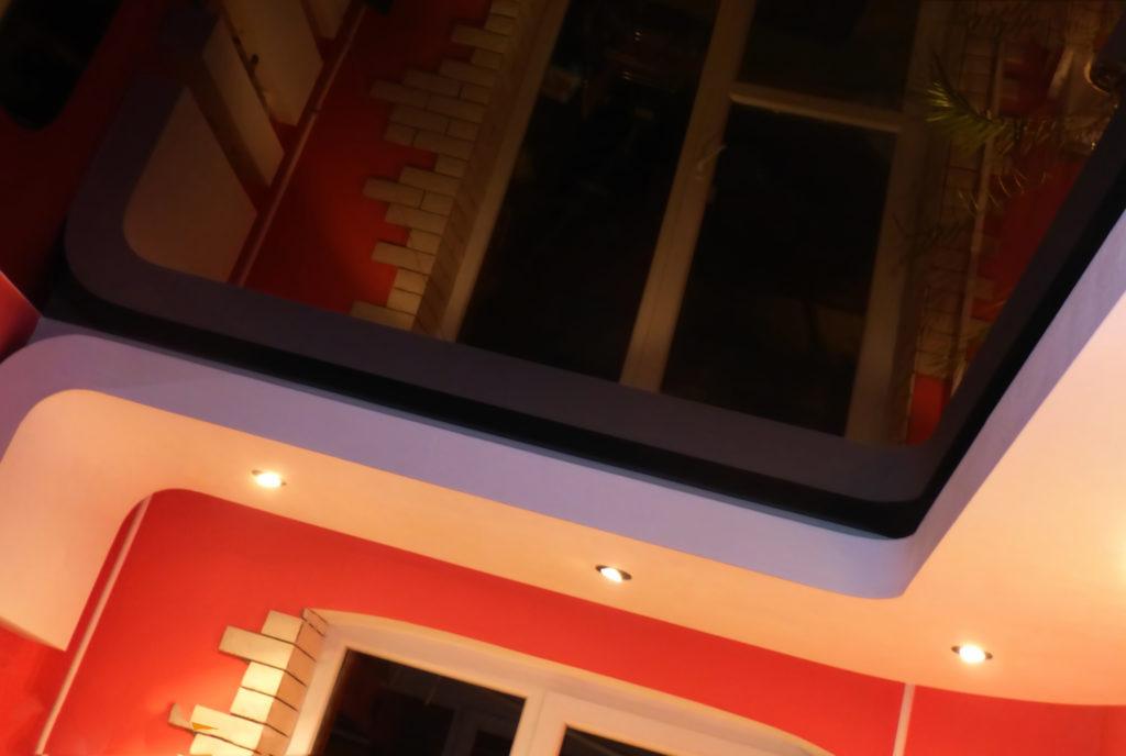 Дизайн маленьких потолков
