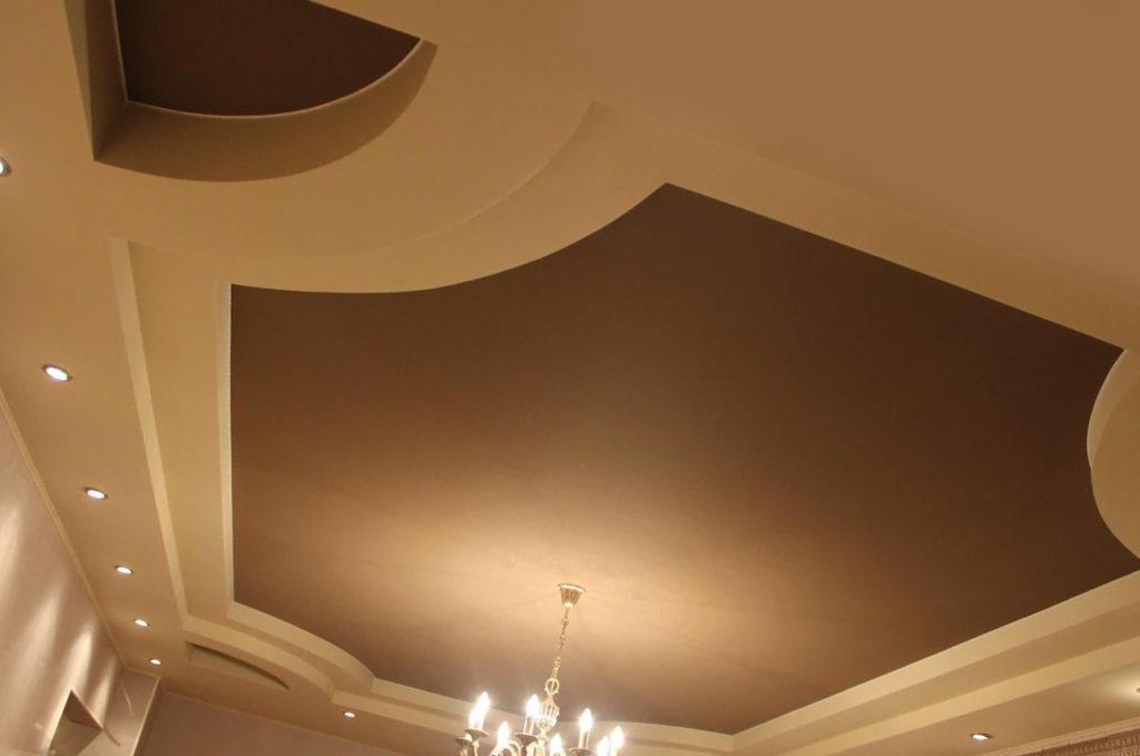 Замер потолка произвольной формы
