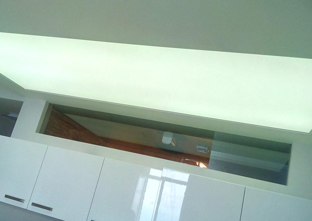 Эффектные светящиеся потолки