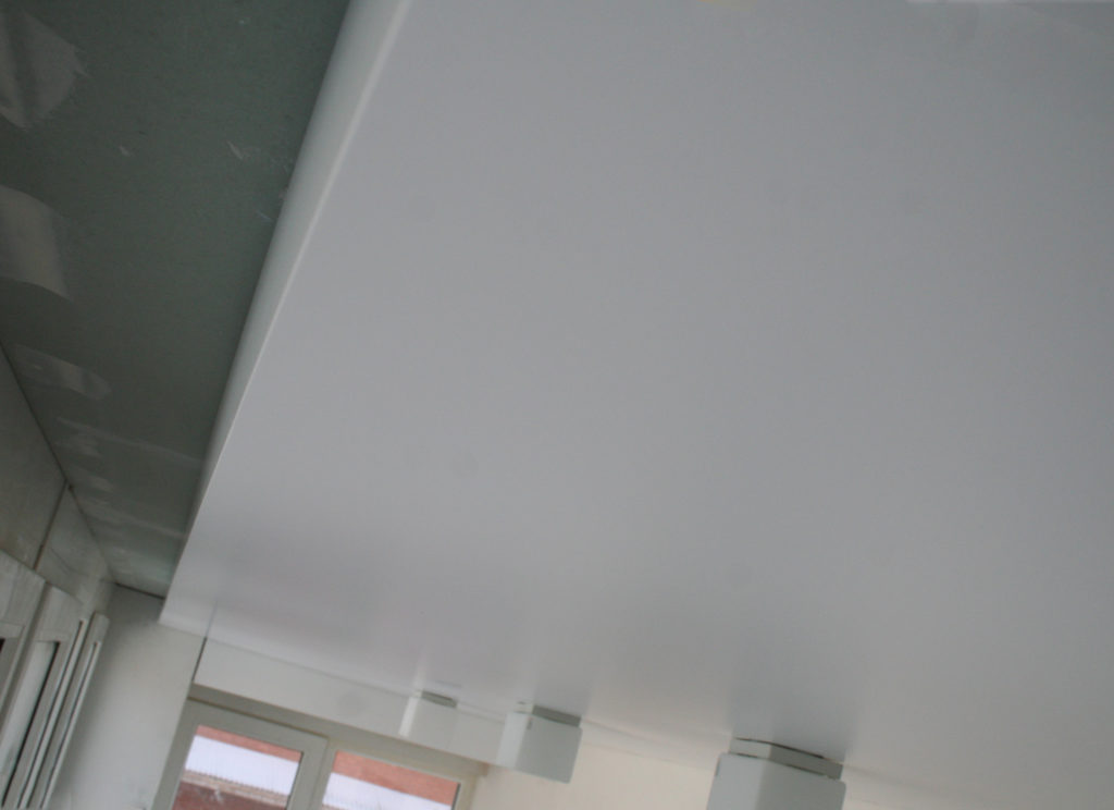 Конструкции натяжного потолка