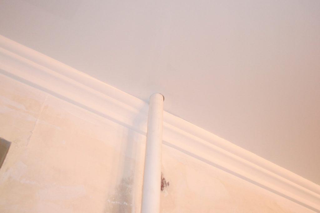 на тканевом натяжном потолке