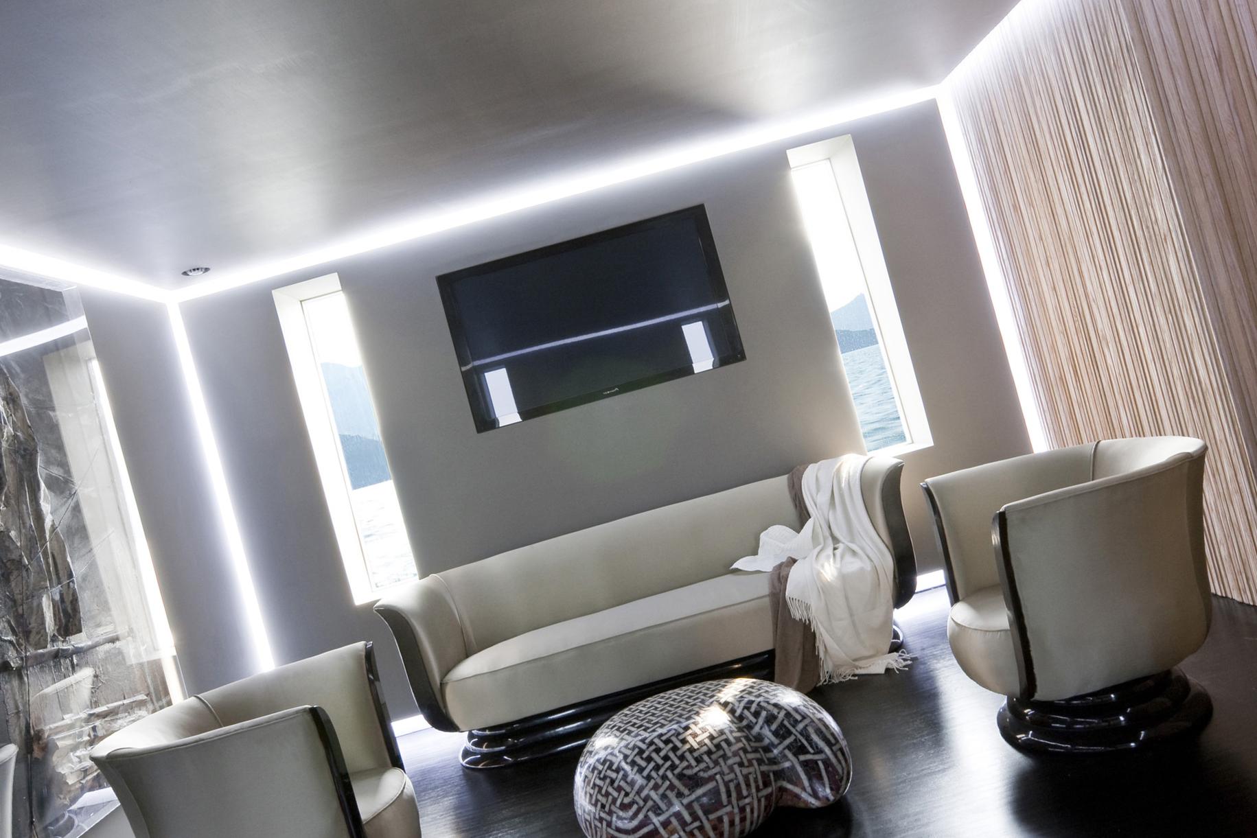 Дизайн натяжного потолка в разных стилях