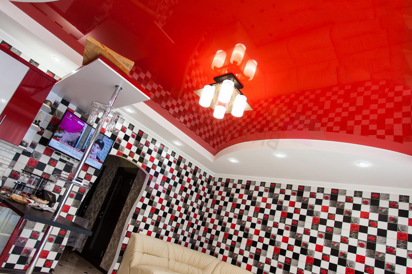 Какие бывают цвета натяжных потолков?