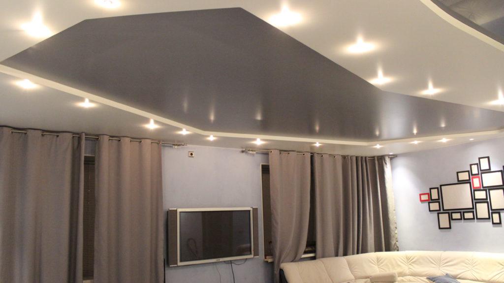 Какой лучше сделать натяжной потолок