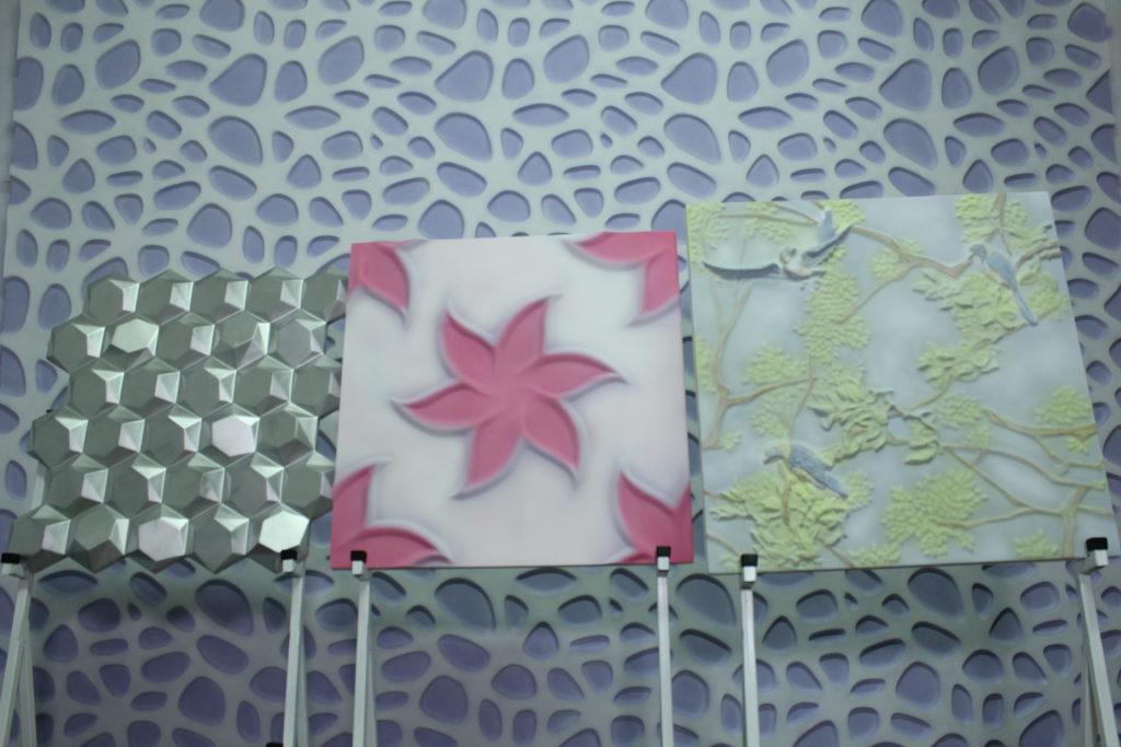 Оригинальные варианты покраски панелей из гипса