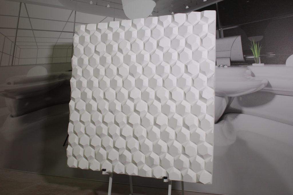 3D-панели, изготовленные из гипса
