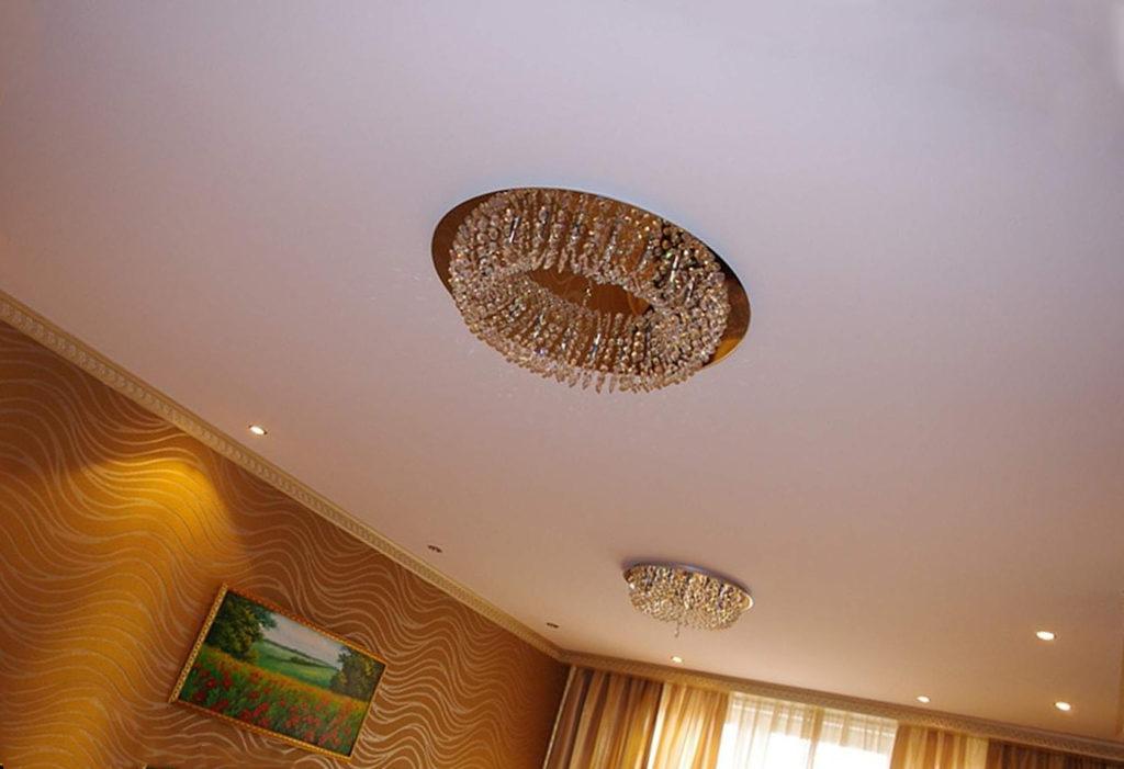потолки из полиэстеровой ткани