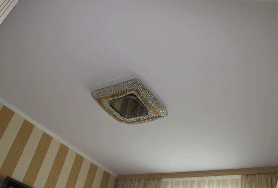 тканевый потолок без швов