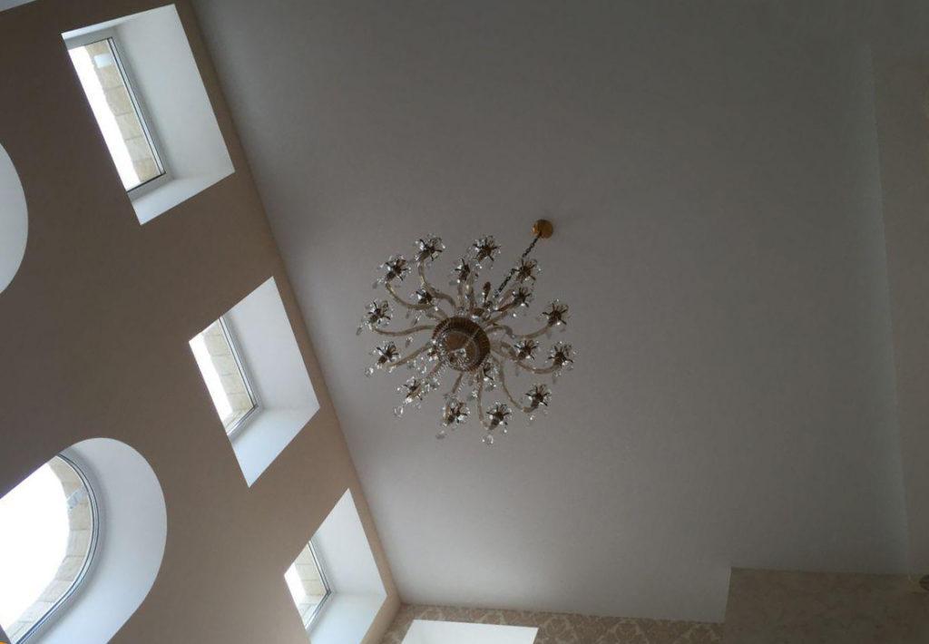 Плюсы и минусы тканевых потолков