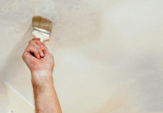 покрасить полотно вододисперсионной краской