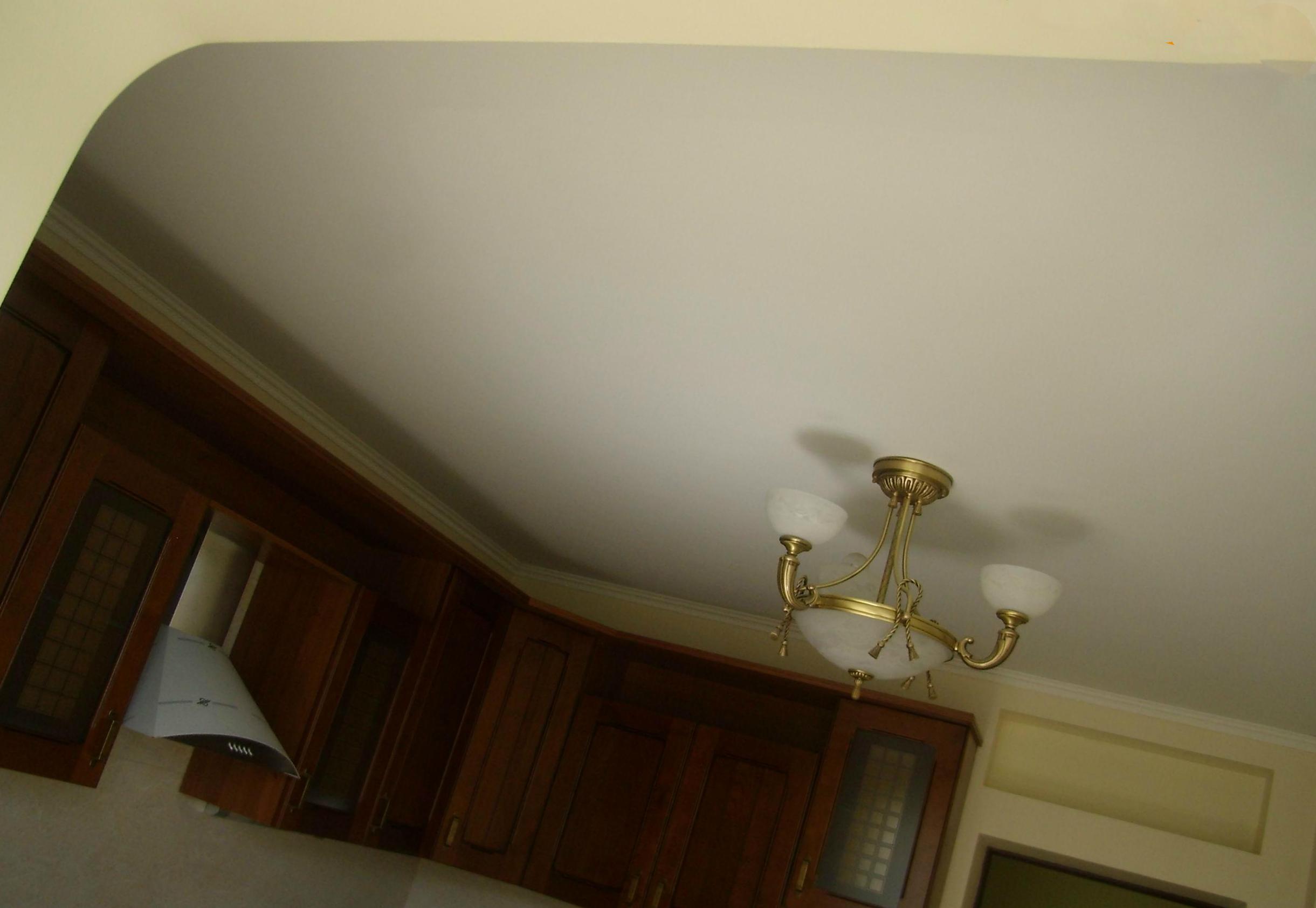 Современная отделка потолочной поверхности