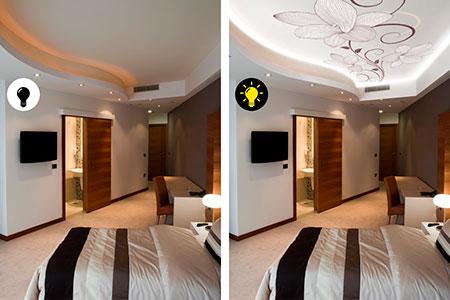 оригинальные потолки Double Vision