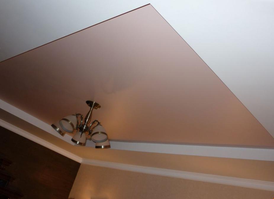 Какие бывают натяжные потолки?