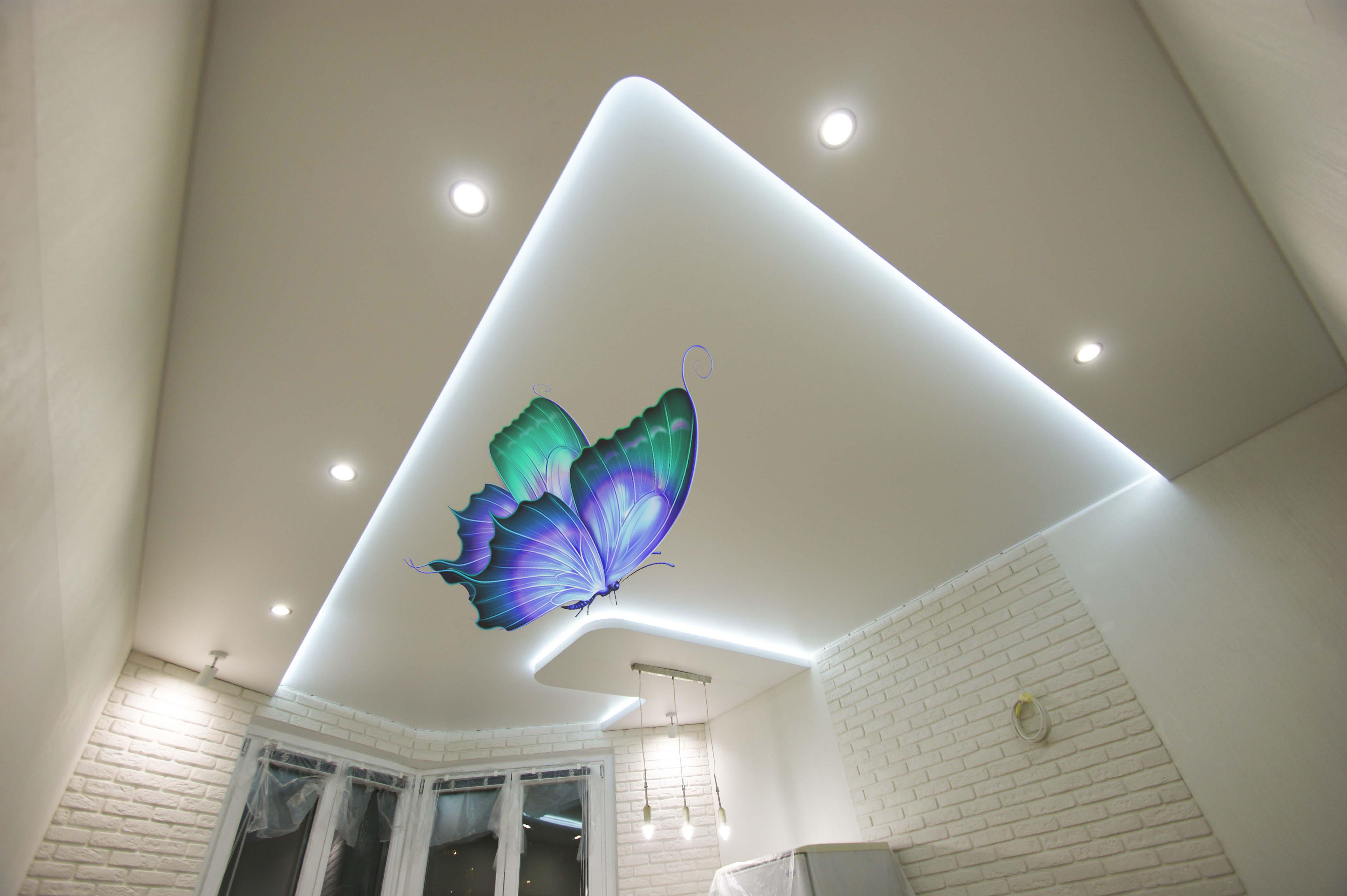 фотопечать бабочка