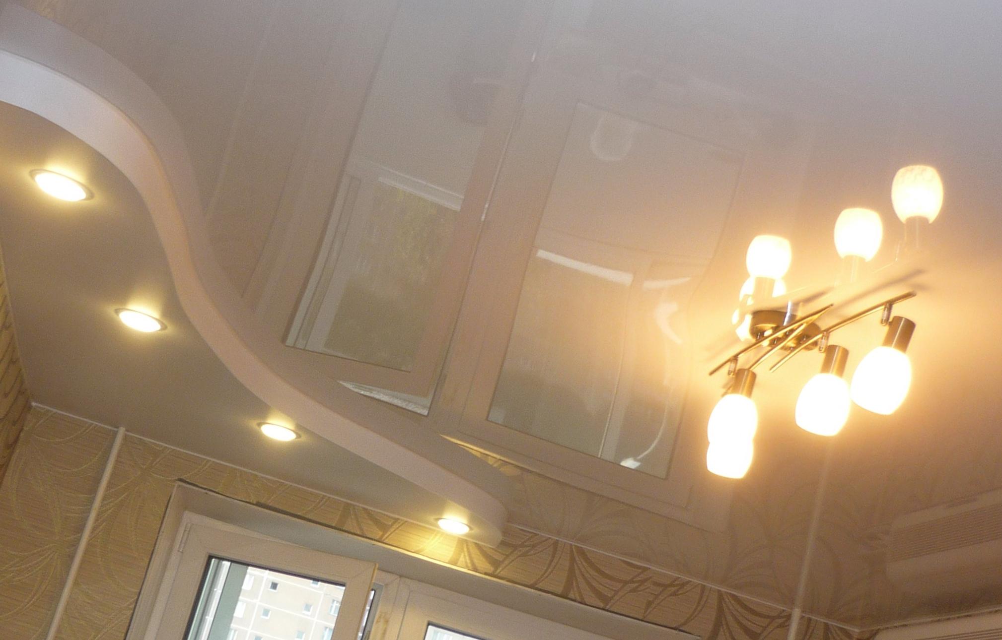 низкий потолок как зрительно увеличить