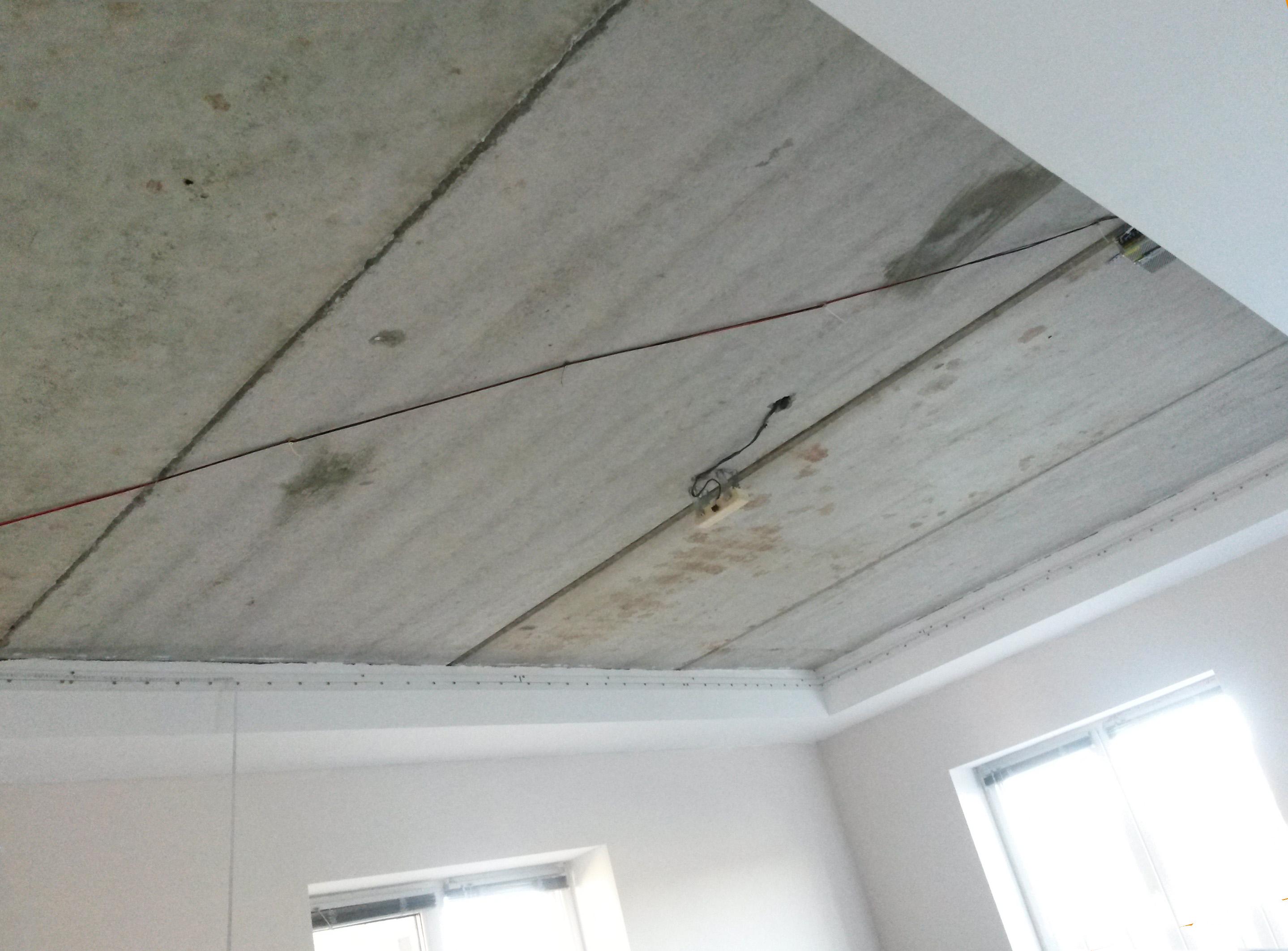 скорость монтажа натяжного потолка