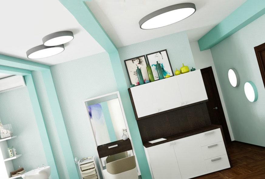 Конструкция светильников с большим диаметром