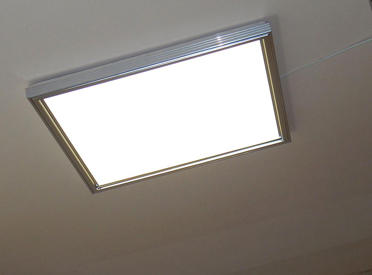 О производстве крупногабаритных светильников