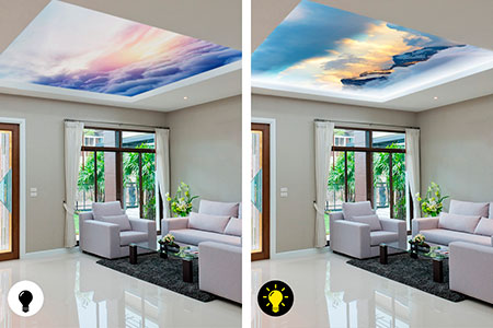 потолок Double Vision