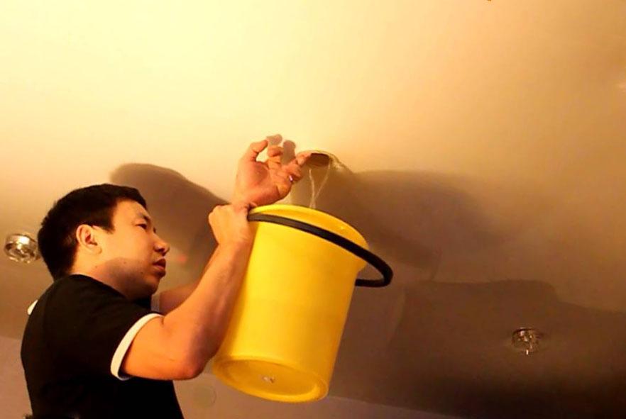 восстановить ПВХ-пленку в случае затопления