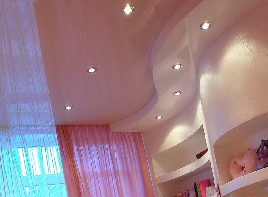 Дизайн потолочной конструкции