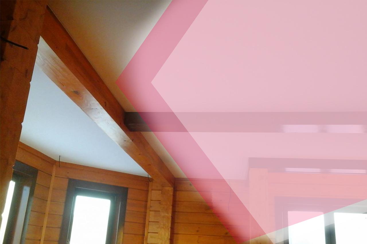 Потолки натяжные в деревянных домах Москва