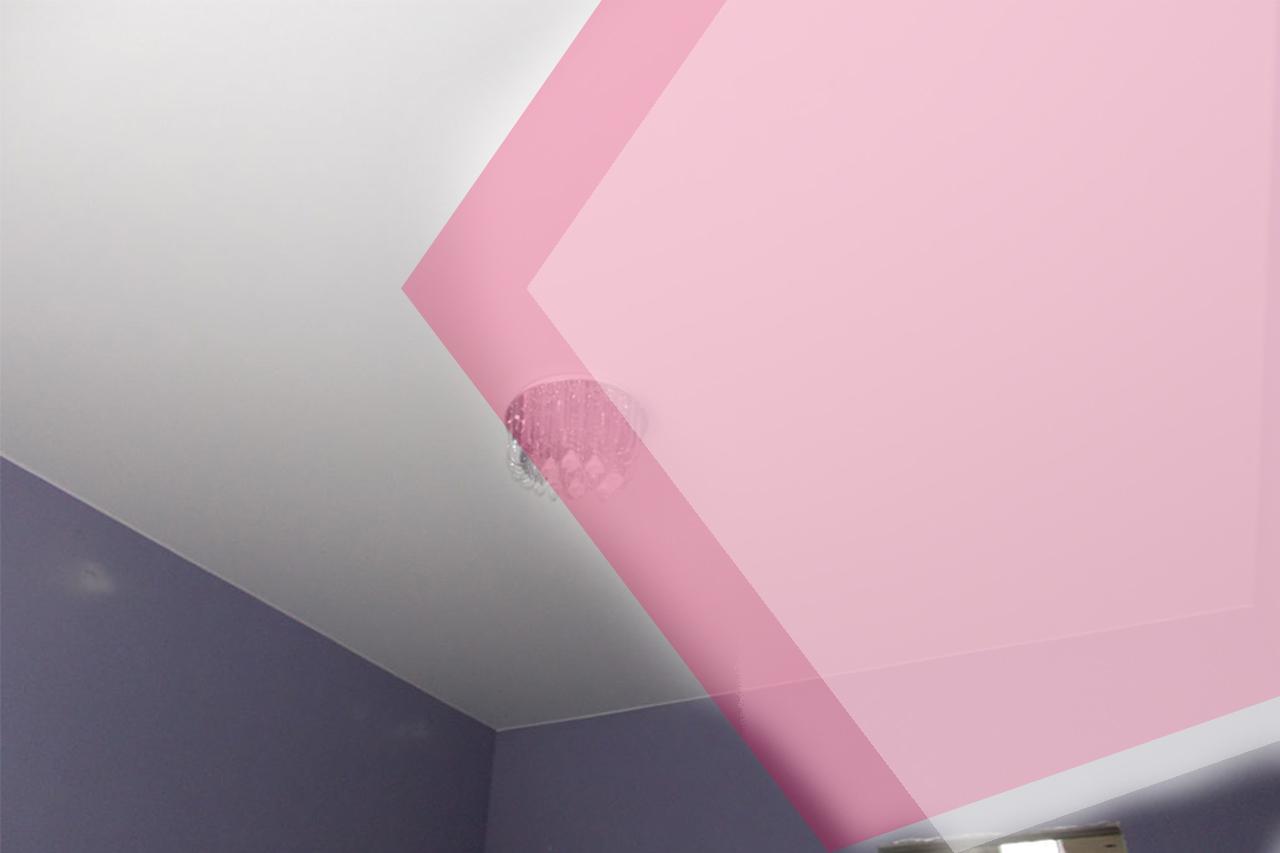 Примыкание натяжного потолка к стене