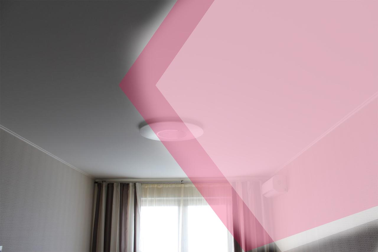 При какой температуре можно использовать натяжные потолки