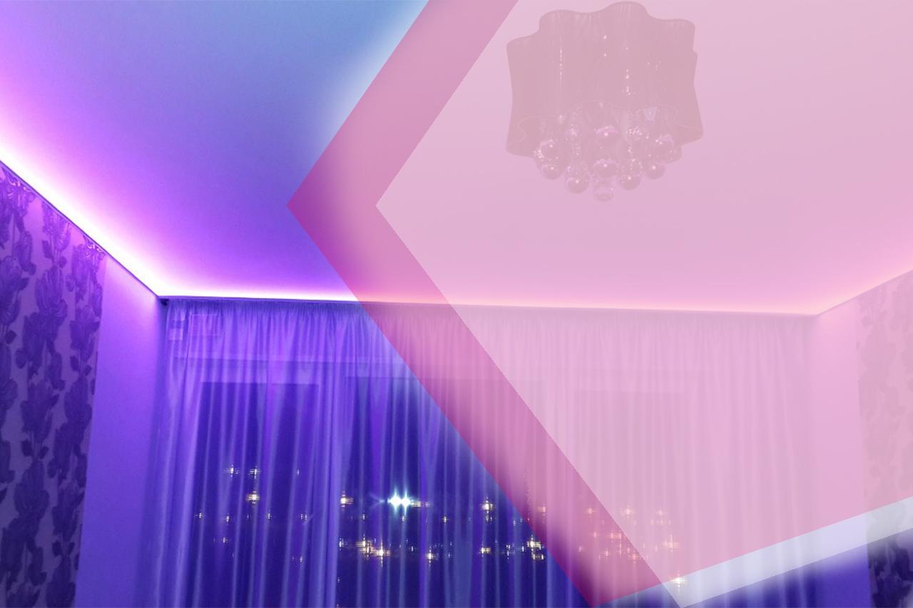 Установка «парящего» натяжного потолка – пошаговые описания монтажа от «АстамГрупп».