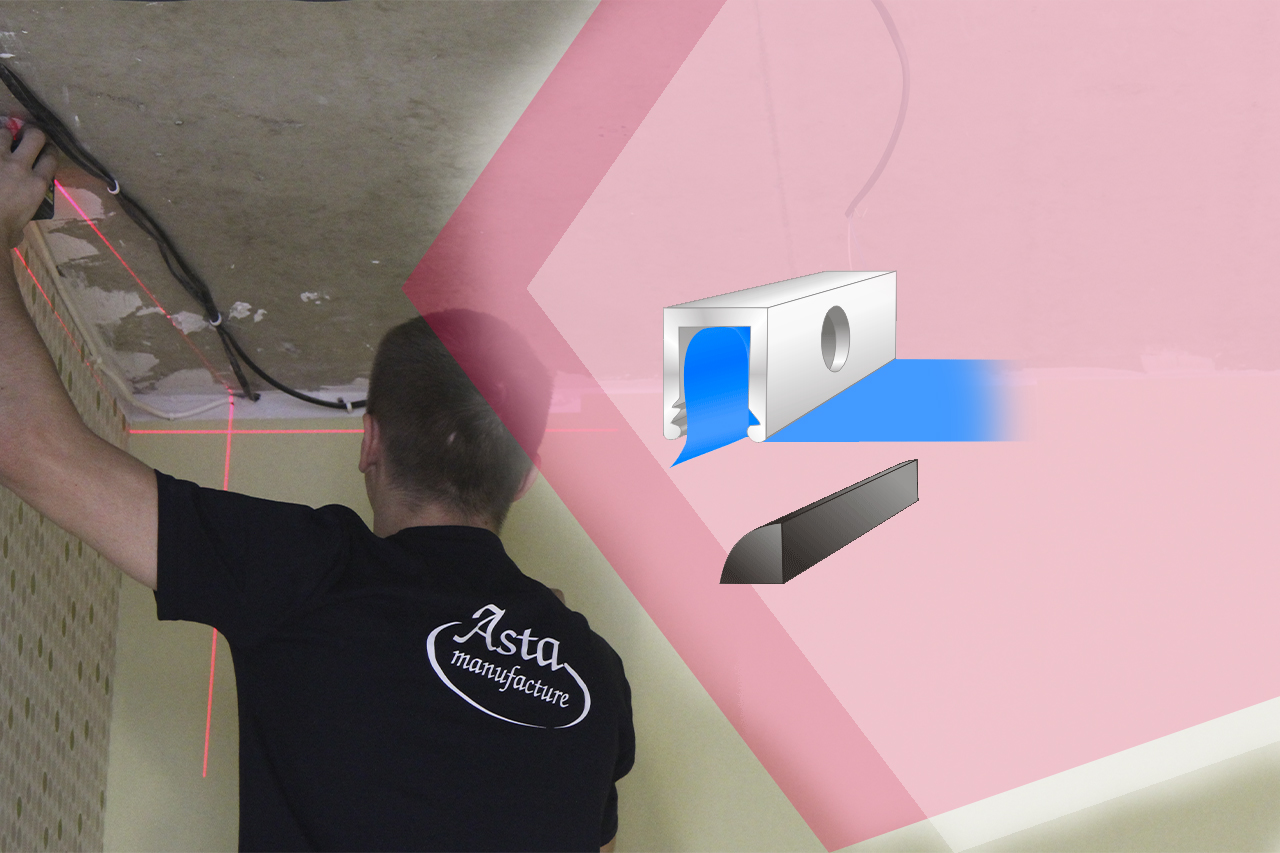 Монтаж натяжного потолка – пошаговые рекомендации от мастеров компании «АстамГрупп»