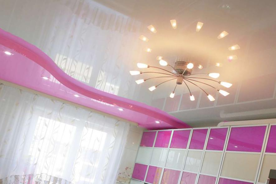 Светильники на потолке кухни – как выбрать и расположить